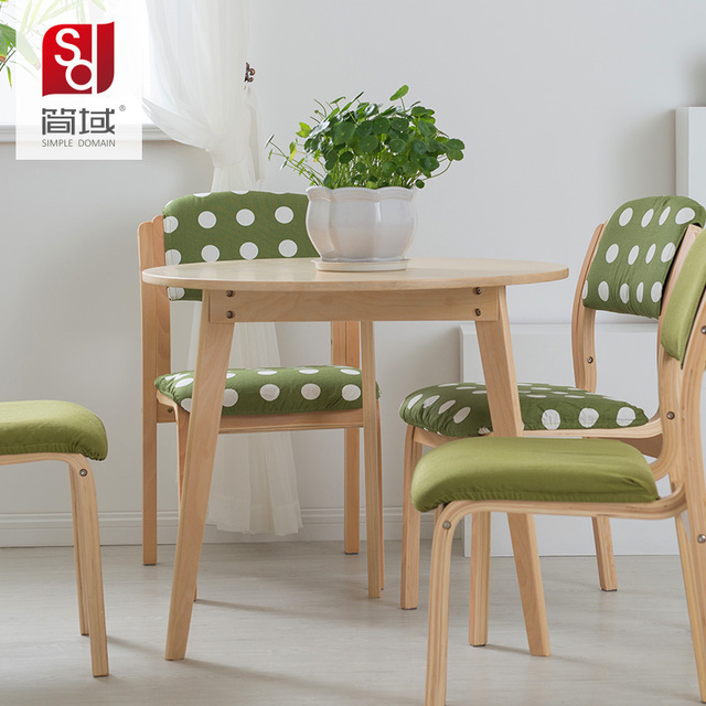 japanese table and chairs bedroom chair lemon jane domain dinette combination of modern small apartment minimalist wood coffee round the