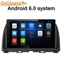 Ouchuangbo Car Dvd Gps Stereo Radio For Mazda CX 5 2012 2014 Support INAND 16G Quad