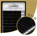 New coming  .15mm  D curl 9/11.13.15mm SIZE LashView individual black false eyelash extension tray lash Free shipping