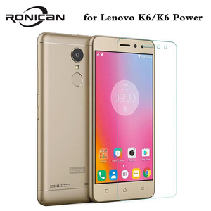 Image 1 - For Lenovo K6 Power Tempered Glass 5.0 inch 0.3mm Amazing H Anti Explosion Screen Protector For Lenovo K6 Cover case film