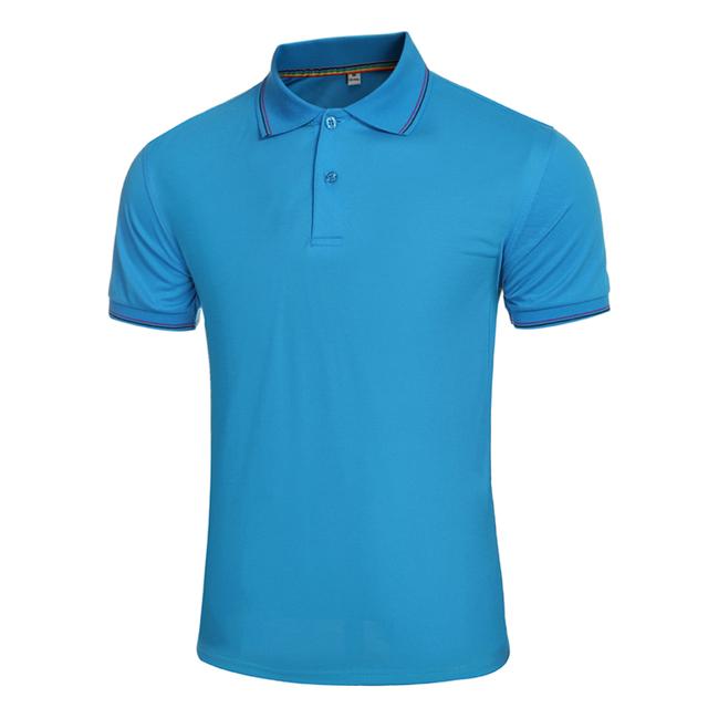 Ropa Del Verano de Los Hombres clásicos Camisa de Polo de Los Hombres de Descubierta Collar Corto homme Casual Dress Slim Fit Camisetas Para Hombre del Polo de polo de manga camisas