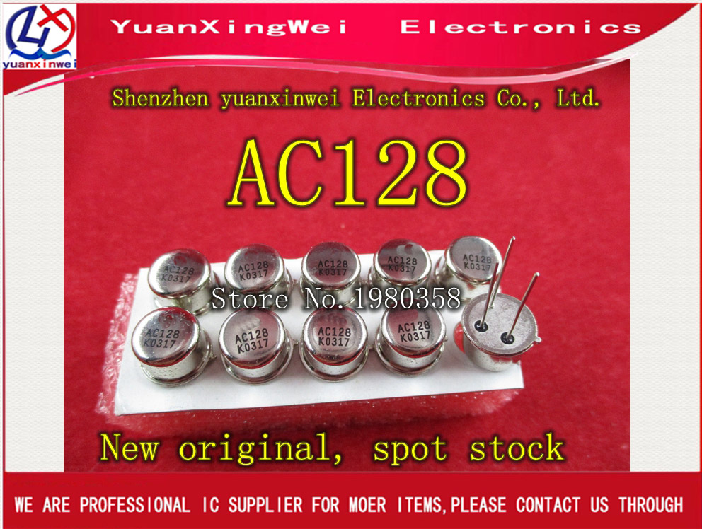 Free Shipping 5PCS/LOT AC128 CAN3 MOT AC 128 TO3 Best Quality