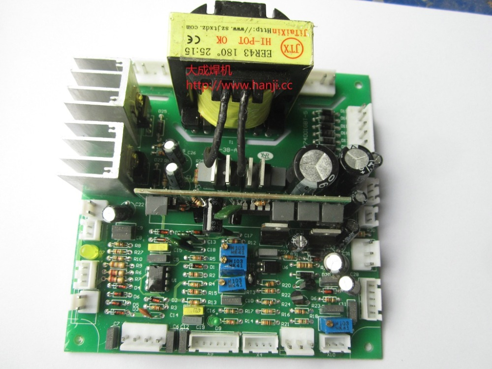 цена на ZX7-400G IGBT single control circuit board a manual welding control board Ling Rui
