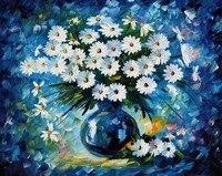 Cross Stitch Mosaic Full Diamond Daisy Diy 5d Needlework Painting Embroidery Diamond Gift Home Decor Diamond