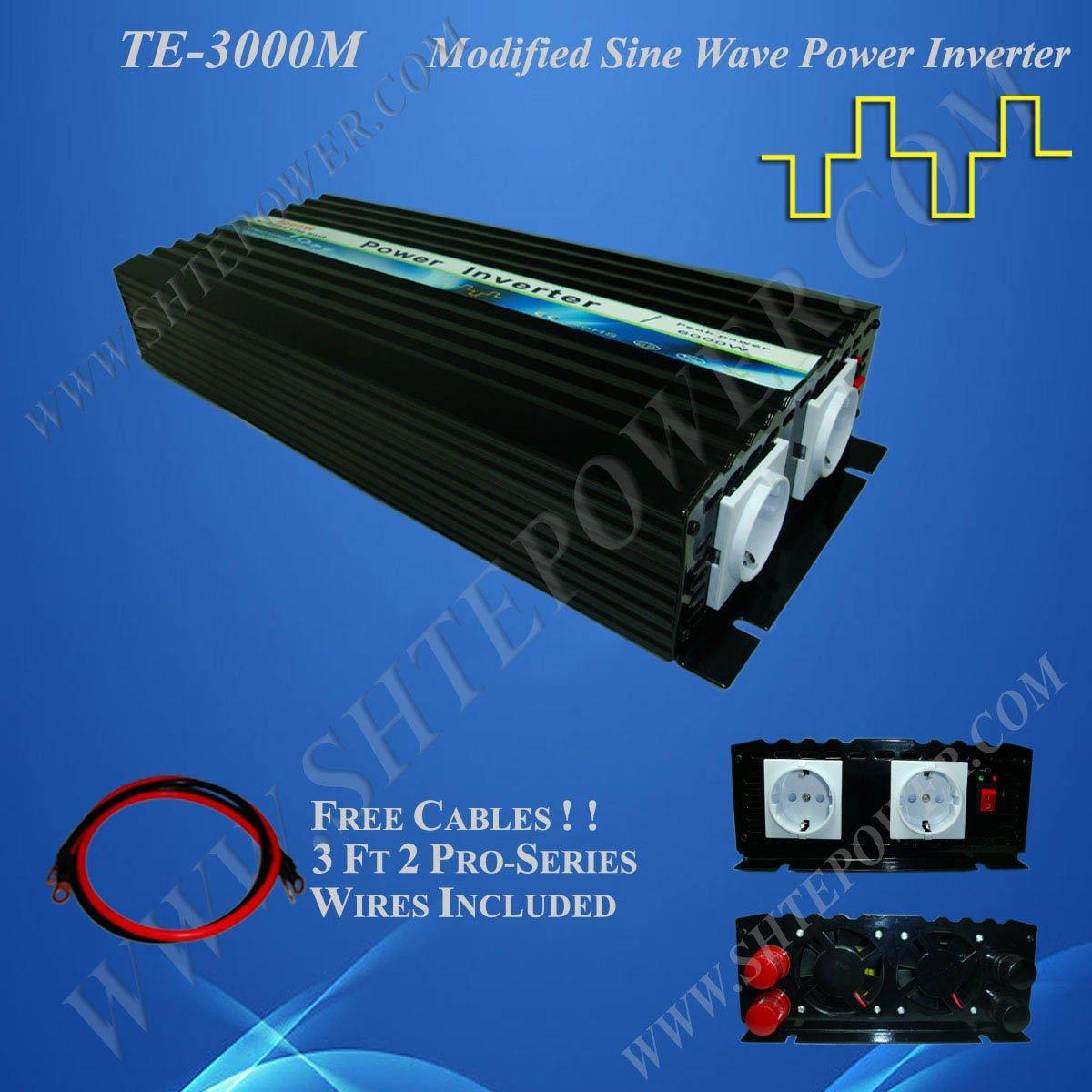 Emergency Power Supply dc 12v to ac 110v/120v 3000w Home Power Inverter