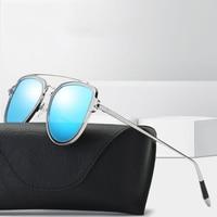 Luxury Vintage Round Sunglasses Women Designer 2018 Eye Sunglasses Sun Glasses For Women Female Ladies Sunglass Mirr WD0889 1