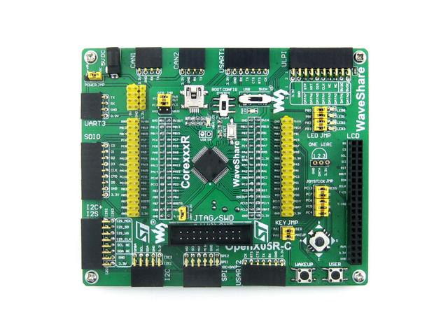 Módulos STM32 Placa Kit Placa de Desenvolvimento STM32 STM32 ARM Cortex-M4 STM32F4 STM32F405 STM32F407ZxT6 Open405R-C = Padrão
