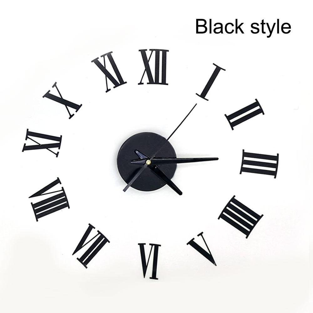 aliexpress   buy 3d home decor diy wall clock quartz