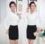 Ol Formal de estilos de moda primavera outono mulheres de negócio trabalho ternos com Tops e saia Ladies escritório camisas e Blusas define uniformes