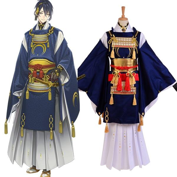 Touken Ranbu Mikazuki Munechika Cosplay Costume Men Women Halloween Costume Kimono