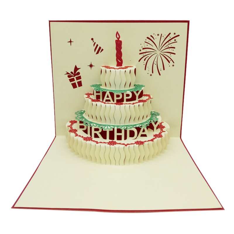 Online Get Cheap Free Paper Birthday Cards Aliexpresscom