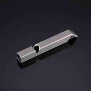 Image 1 - Nitecore NWS10ไทเทเนียมฉุกเฉินนกหวีดสร้อยคอจี้กลางแจ้ง120dBพร้อมพวงกุญแจ + จัดส่งฟรี