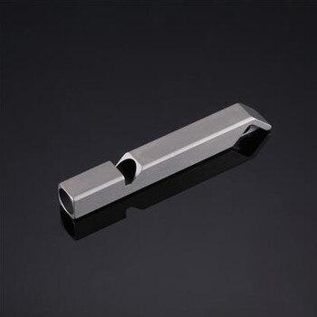 Nitecore NWS10 tytanowy gwizdek awaryjny naszyjnik wisiorek na zewnątrz 120dB z breloczkiem + bezpłatna wysyłka