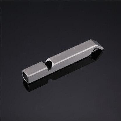 imágenes para Nitecore nws10 titanium 120db silbato collar colgante al aire libre de emergencia con llavero + envío gratuito