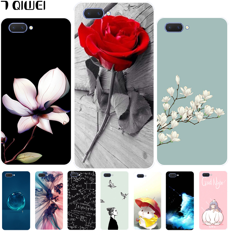 Coque For Oppo A3S Cover 6 2'' Silicone Soft TPU Back Cover For Oppo A3S A  3S / Oppo A5 Phone Case Fashion Slim OPPOA5 Cartoon