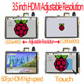 raspberry pi 3.5 inch hdmi LCD touchscreen touch screen 60 fps high speed 3.5inch better than 5 inch and 7 inch
