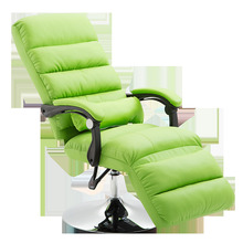 Beauty Chair Beauty Massage Seat Reclining Lunch Break Chair Rotatable Liftable Stool Home Computer Office Chair folding chair office chairs my lunch break nap chair