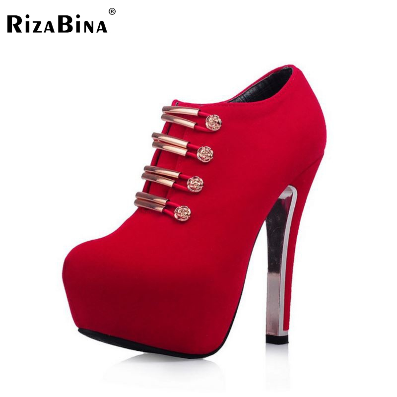 women thin high heel shoes lady suede platform spring sexy fashion pumps heeled footwear heels shoes size 33-42 P16144 taoffen women high heels shoes women thin heeled pumps round toe shoes women platform weeding party sexy footwear size 34 39
