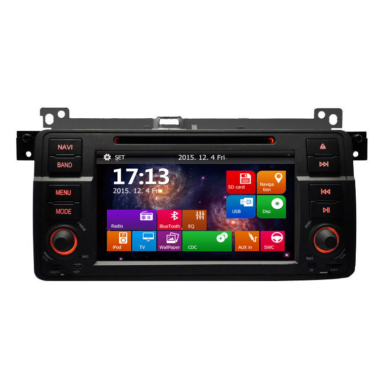 Car DVD Multimedia Player For BMW E46 M3 316i 318i 320i 325i Old 3 Series With DVD Player GPS Navigation System Stereo Head Unit