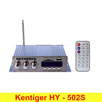 Kentiger HY 502S 2CH Bluetooth Hi Fi Super Bass Output Power Amplifier With Remote Controller Bluetooth