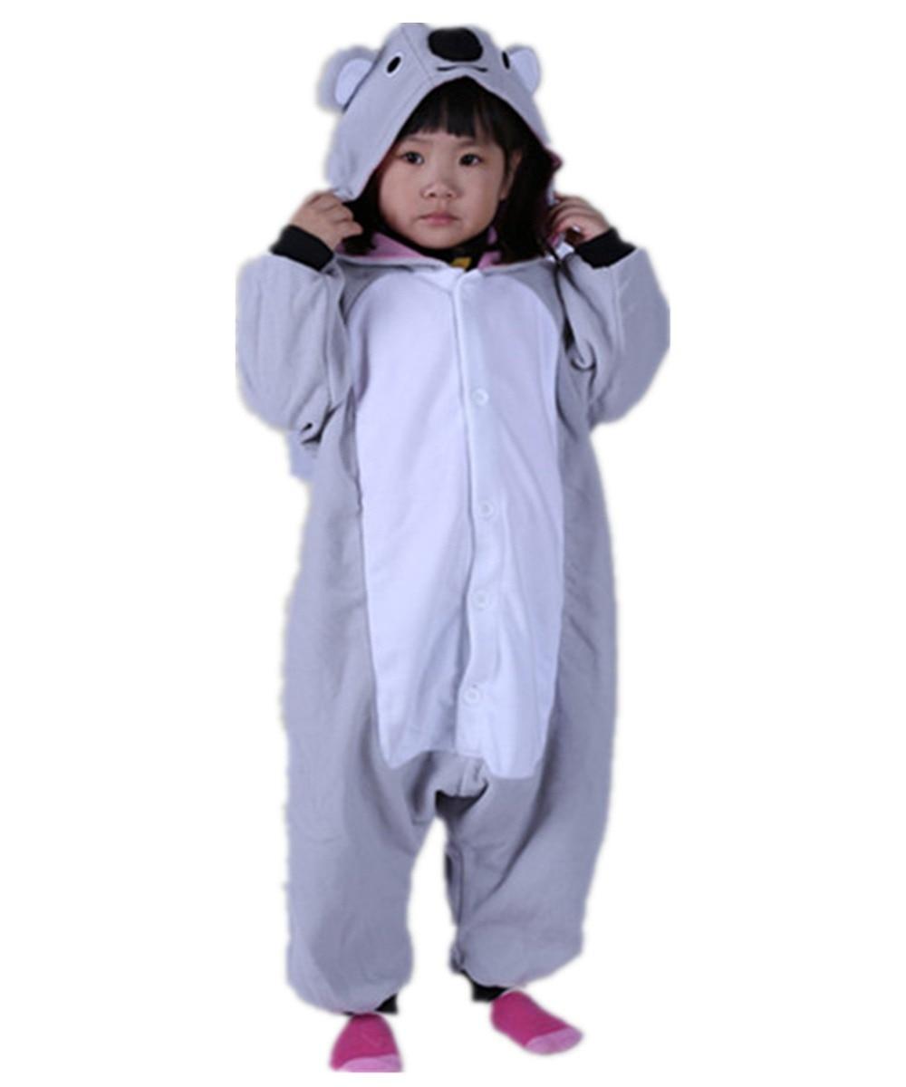 d14f14226f14 Kids Baby Boys Cosplay Australia Koala Onesies Pajama Costumes Winter  Cartoon Pajama Carnival Halloween Christmas Party Pyjamas on Aliexpress.com