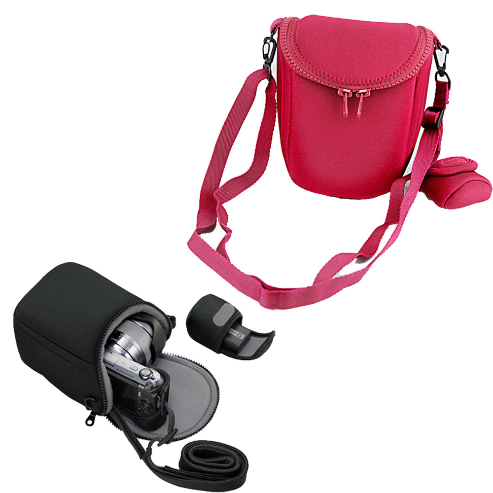 BBF Waterproof Soft Camera Bag Case For Sony A5100 A5000 A6300 A6000 H400 H300 HX90 HX60 HX50 RX100 RX100M4 NEX3 NEX3N NEX5 NEX6