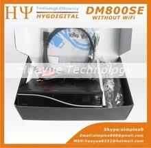 1 UNID DM800HD Sin WiFi y SIM2.10 Negro Receptor de TV Por Satélite dm800hd se DM800se SIM2.10 BCM4505 Sintonizador Decodificador DM800 hd sí