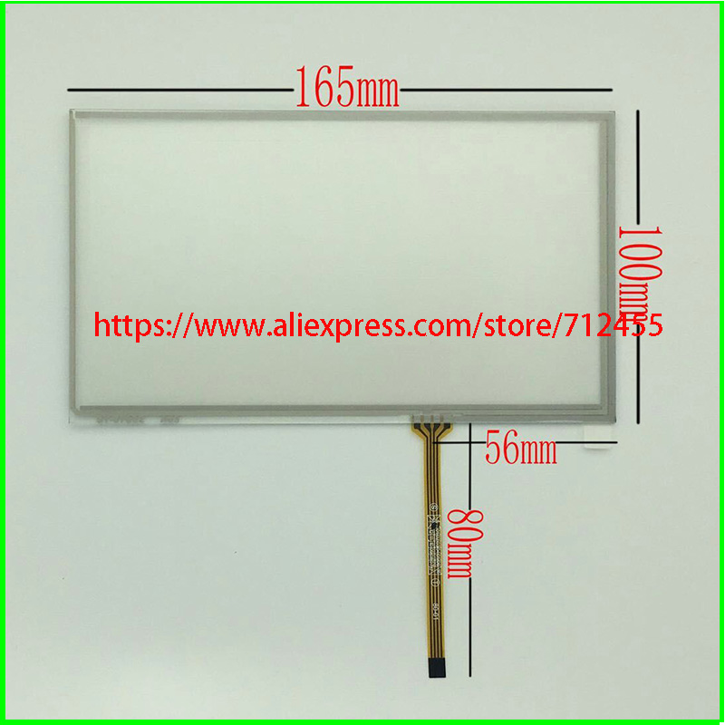 New 7'' Innolux AT070TN92,AT070TN93,AT070TN90 touch screen digitizer,panel 165mm*100mm