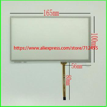 Nowy 7 #8221 innolux AT070TN92 AT070TN93 AT070TN90 ekran dotykowy digitizer panel 165mm * 100mm tanie i dobre opinie Zdjęcie Rezystancyjny SZDONGYUDA 4 3inch