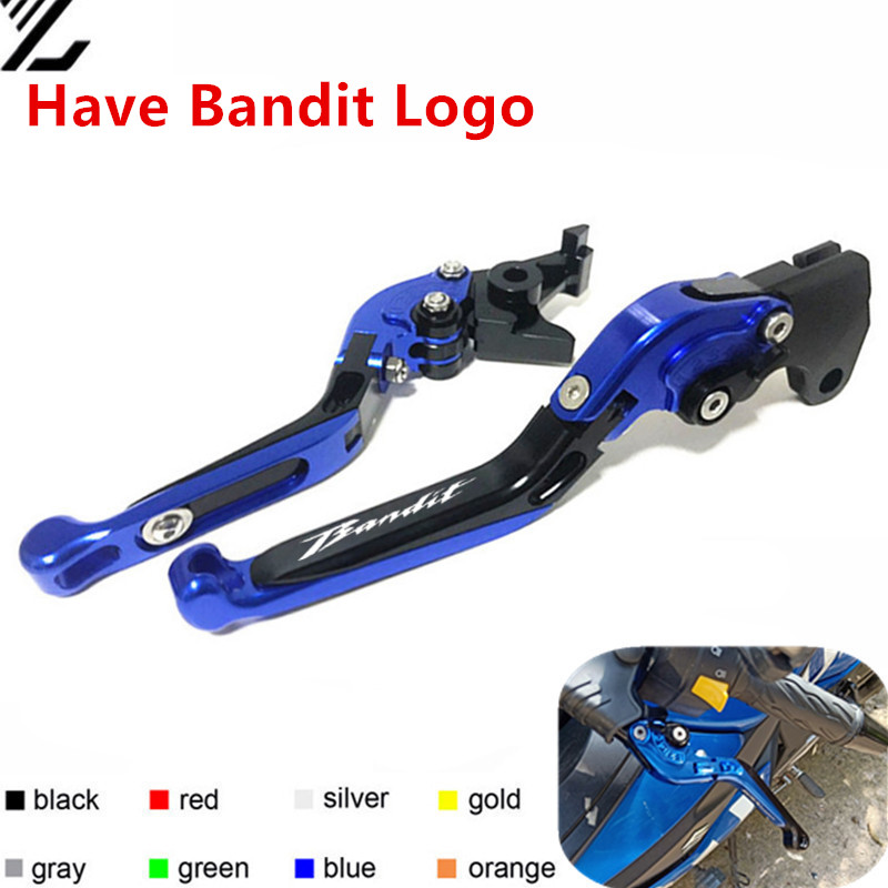CNC Motorcycle Accessories <font><b>Brakes</b></font> Clutch Levers For <font><b>SUZUKI</b></font> GSF650 GSF1250 <font><b>GSF1200</b></font> GSF 650/1200/1250 BANDIT 2001-2006 /2007-2015 image