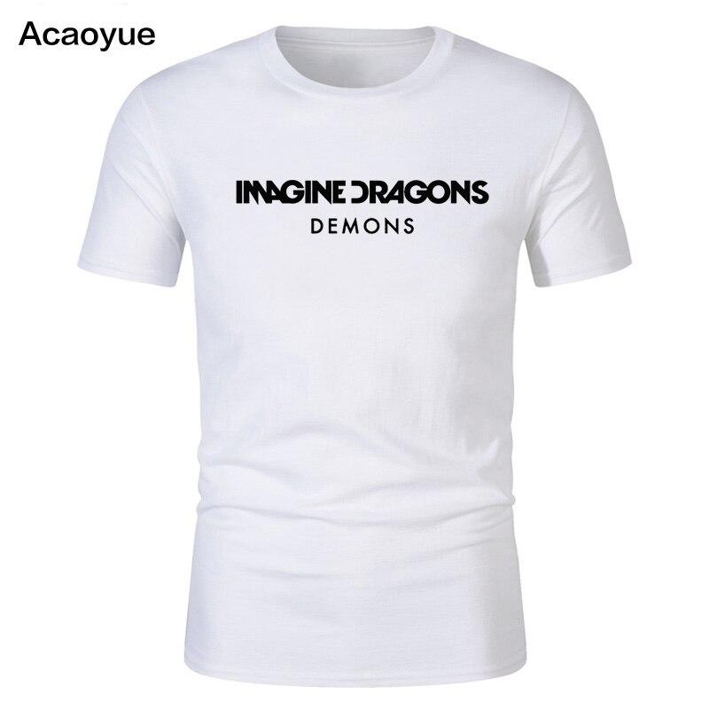 Shirt Men 3D Printed Imagine Dragons Evolve 3D Printing Round Collar Short sleeve T