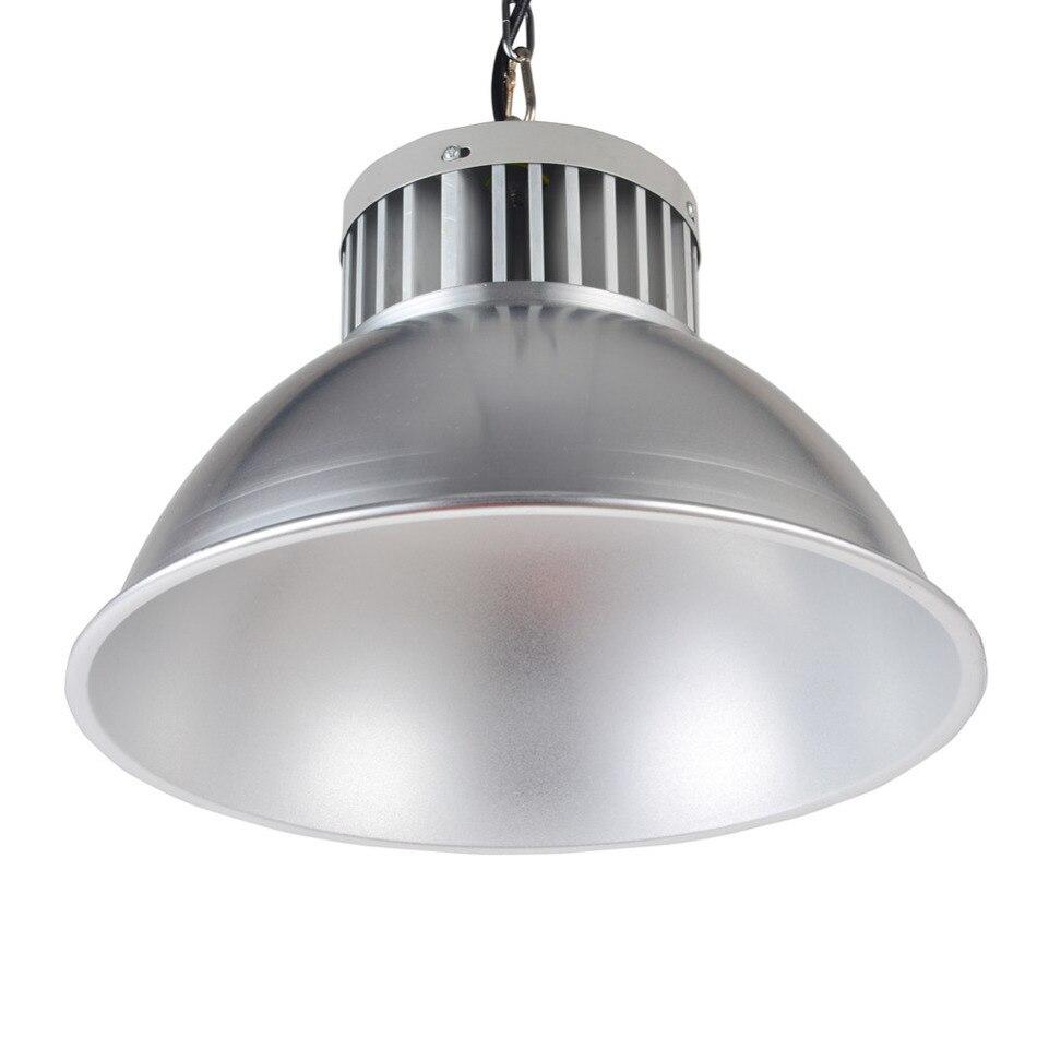 ФОТО 3pc/lot mini 100W AC85-265 LED lamp High Bay industrial light factory Lighting Lamp ceiling/flood lights modern lighting