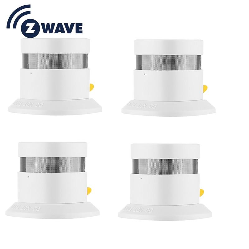 Z wave Plus Smoke Sensor Smart Home EU Version 868 42mhz Z Wave Smoke detector Power
