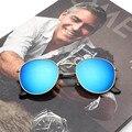 2017 Óculos De Sol Das Mulheres Marca de Luxo Designer de Óculos Redondos Do Vintage Senhora de óculos de Sol 3447 Espelho Óculos de sol oculos de sol Feminino