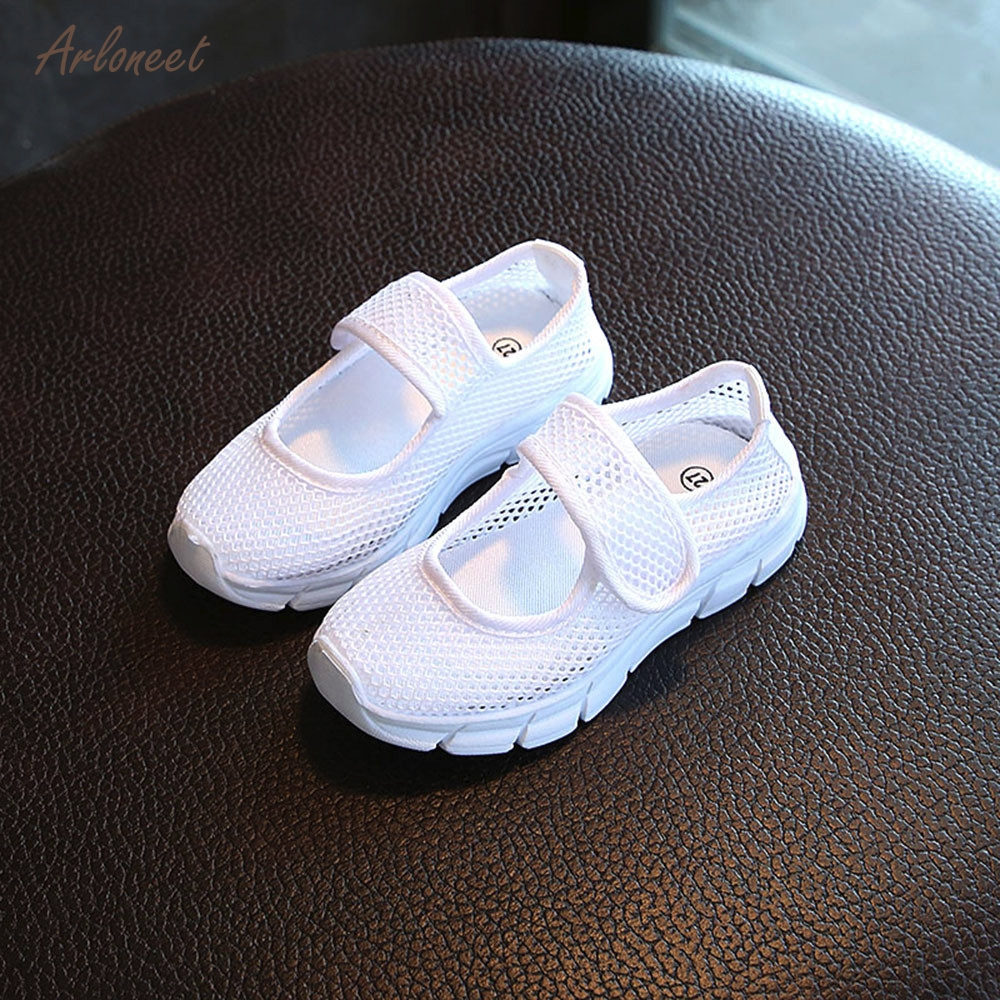 ARLONEET TKids Boys Girls Baby Closed Toe Sports Sandals Casual Mesh Sneakers Beach Shoe ...