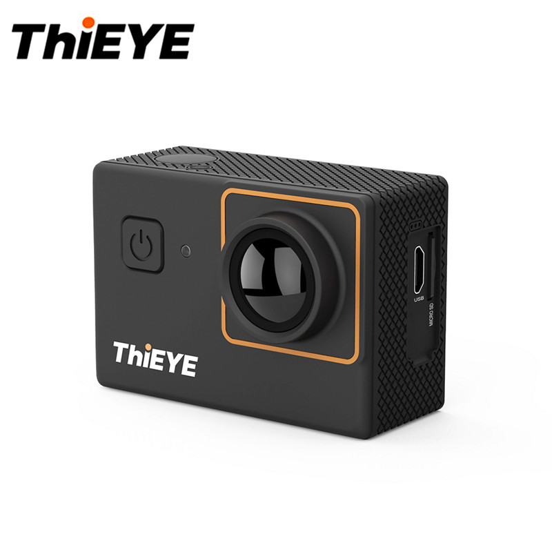 лучшая цена ThiEYE I30 Plus Ultra HD Action Camera 4K 10fps 12M Resolution 60m Waterproof 2.0'' Screen Action Camera 170 Degree Wide Angle