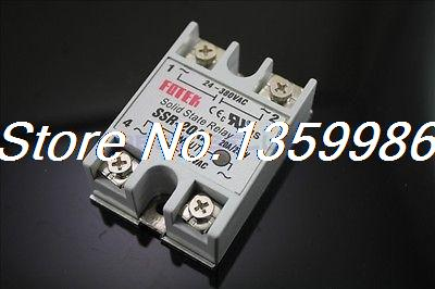 10pcs Solid State Relay SSR-20 AA AC-AC 20A/250V 80-250VAC/24-380VAC original 3 phase ac solid state relay ssr 15a 80 250vac normally open electronic switch