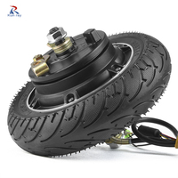24V 36V 48V 350W 500W Hub Motor Scooter Brushless Toothless Electric Scooter Hub Wheel Motor 8 Inch