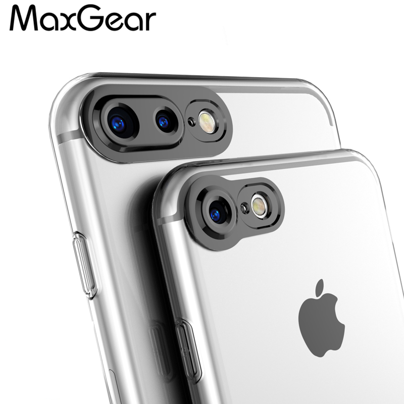 for iphone 6s 7 plus case 3d camera protection high clear transparent silicone soft tpu cover. Black Bedroom Furniture Sets. Home Design Ideas