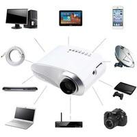Home Mini Cinema Portable 1080P 3D HD LED Projector Multimedia Home Theater USB VGA HDMI TV