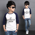 Autumn Boys T-Shirts Full Sleeve Cotton Tees For Boys O-Neck Casual Children Clothing Kids Spring Clothes 3 4 6 8 10 12 Years