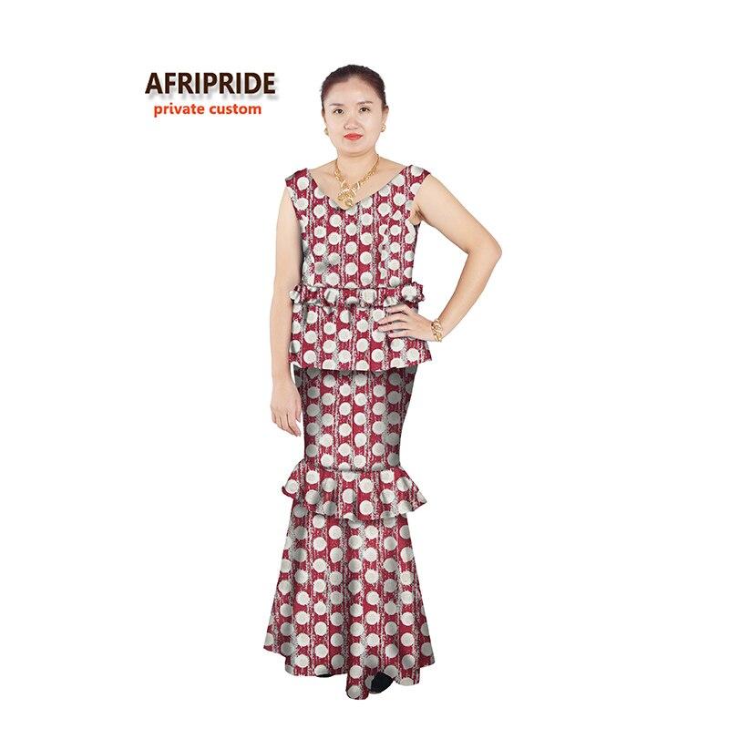 Afrička haljina za žene seksi stilovi afrički ženska odjeća - Nacionalna odjeća - Foto 4