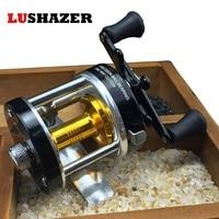 Metal Fishing Reel CL 25 Drum Type Fishing Reels 145g Pcs 3 8 1 Black Nickle