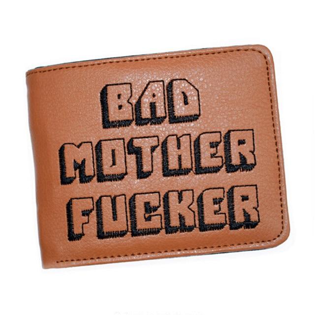 Negro Khahi carpeta madre cartas cartera monedero con cremallera Vintage regalo monedero de la cartera masculina