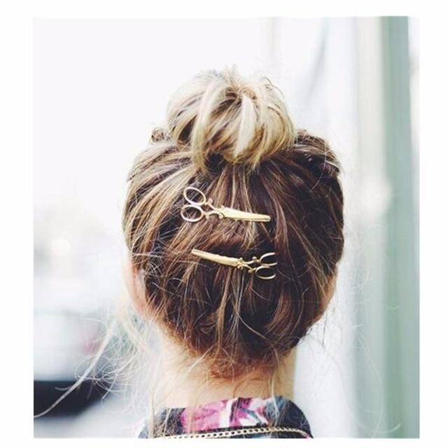 Bridal Hairwear Scissors Hairpins hair band Headbands for Women Wedding Hair Jewelry Accessories Headband Women