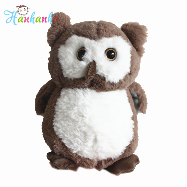 Cute Owl Plush Toy Baby Soft Sleeping Doll Bird Stuffed Toys Kids