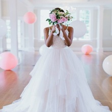 TPSAADE Spaghetti Straps Floor Length Wedding dresses