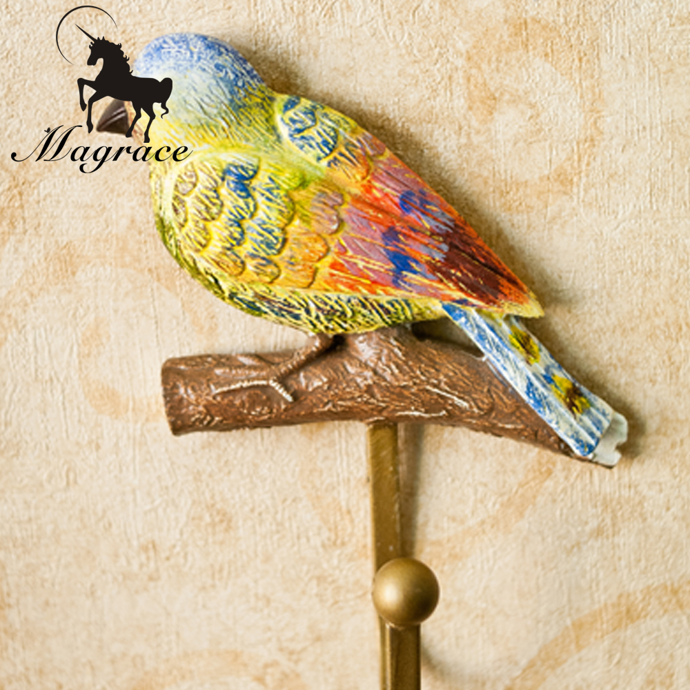 Colorful Metal Birds Wall Decor Elaboration - The Wall Art ...