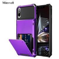 Iphone x xs 最大 xr 7 8 ケース財布 id スロットクレジットカードホルダーケース iphone xr 7 7 + 6 6x10 iphone 8 xr xs