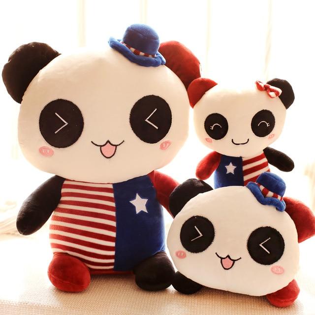 Peluche panda animal Doll jouet oreiller cadeau de Noël